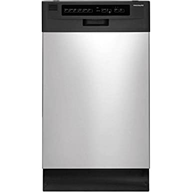 Frigidaire FFBD1821MS 18 Built-in Dishwasher, Black/Silver