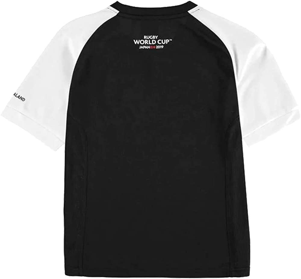 Team/ Boys Rugby World Cup 2019 Poly T Shirt Mesh Panelling Age 7-13