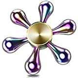 Premsons Fidget Spinner Toy For Kids - Metallic Rainbow