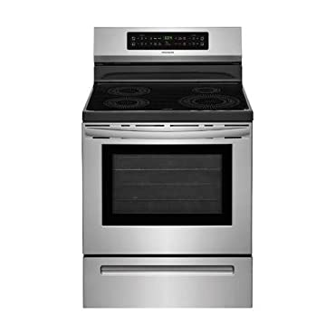 Frigidaire FFIF3054TS 30 Inch Freestanding Electric Range with 4 Elements, Smoothtop Cooktop, 5.3 cu. ft. Primary Oven Capacity, in Stainless Steel