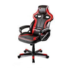 Arozzi Milano Enhanced Gaming Chair, Red
