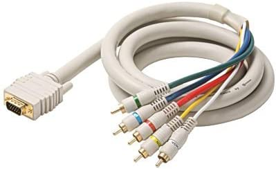 6 VGA to 5 RCA Component Cable Steren 253-606IV