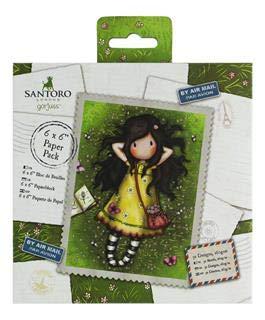 6x6 Santoro Gorjuss GOR 160121 Scrapbooking-Papiere Multi