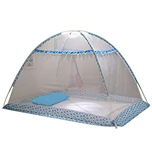 WALLER PAA Summer Mosquito Net Baby Sleeping Crib Bed Folding Tent Bedding Canopy