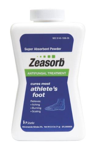 Traitement antifongique Zeasorb poudre, Jock Itch, 2,5 oz (Pack de 2)