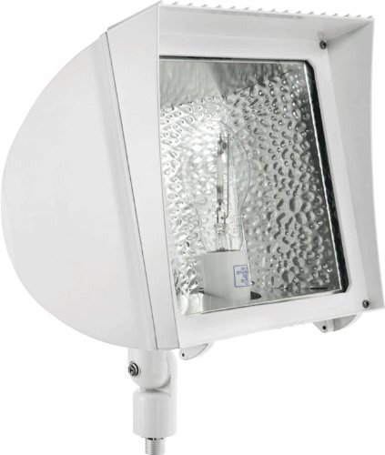 RAB Lighting FXH150/480 Flexflood 150W MH 480V HPF with Arm Lamp, Bronze
