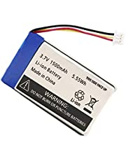 3.7V Rechargeable Lithium Polymer Battery 1500mAh for Infant Optics DXR-8 Video Baby Monitors