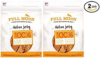 product image for Full Moon All Natural Human Grade Dog Treats,24 oz (Chicken Jerky) - Pack of 2