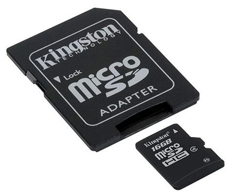 Professional Kingston MicroSDHC 16GB (16 Gigabyte) Card for LG Cookie Style Phone Phone with custom formatting and Standard SD Adapter. (SDHC Class 4 Certified) by Kingston (Image #2)