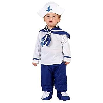 Disfraz de marinero para bebé - De 6 a 12 meses: Amazon.es ...