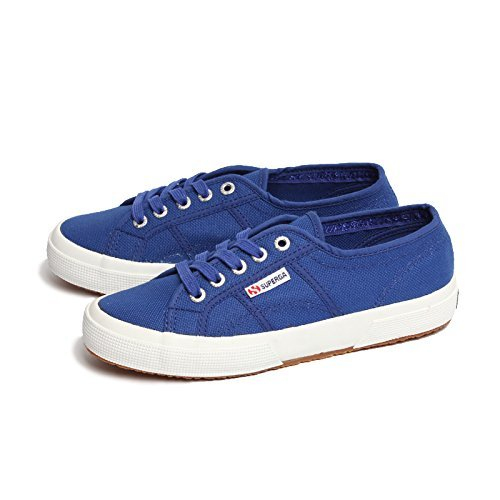 Superga Unisex-Erwachsene 2750-Cotu Classic Low-Top Blau (Intense Blue G)