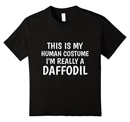 Kids This Is My Human Costume I'm A Daffodil - Flower T-Shirt 8 (Childrens Daffodil Costumes)