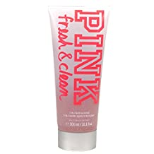 Victoria's Secret Pink Fresh and Clean 2 in 1 Body Wash and Scrub