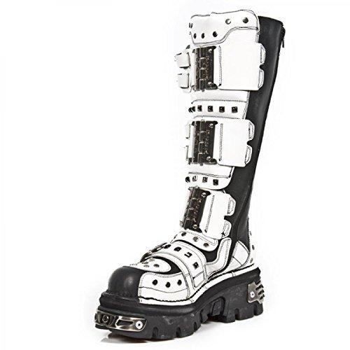 New Rock Boots M.800-c2 Gotico Hardrock Punk Unisex Stiefel Schwarz