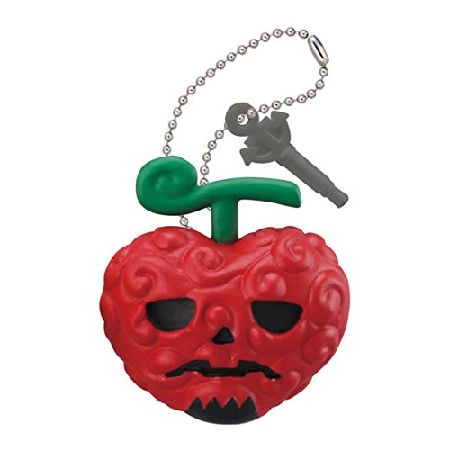 Bandai One Piece Double Earphone Plug Jack Mascot Figure Swing Keychain ~Halloween~Ope Ope No Mi Op-Op Fruit ()