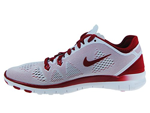 Fit 5 Free Gym Nike Red Sneaker 4 Tr 0 White Donna IF14wxq76g