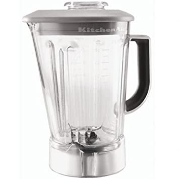 KitchenAid 56-Ounce Blender Pitcher with Black Lid KSB56POB