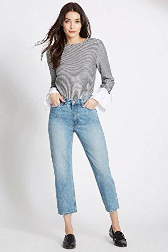 amp; Marks Femme Bleu Unique Ex Spencer Pale Jeans Taille Zqzz51