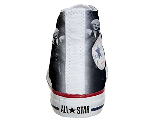 CONVERSE personalizzate All Star Sneaker unisex (Prodotto Artigianale) Foto Marylin