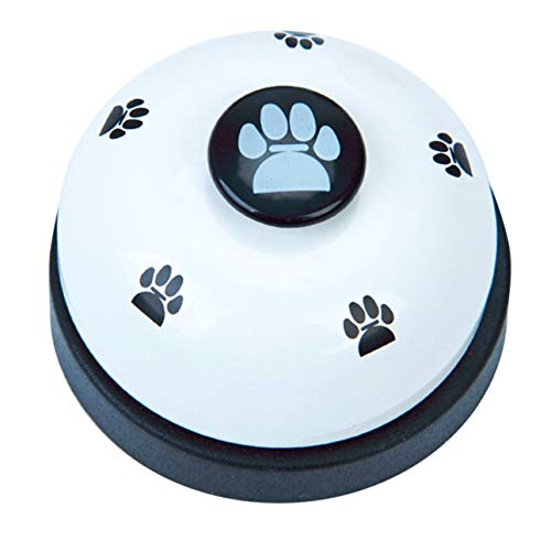 (Smartlove1P Interactive Pet Dog Cat Training Dinner Bell Dog Toys Call Bell Training Accessories Puppy Feeder Ring Trainer)