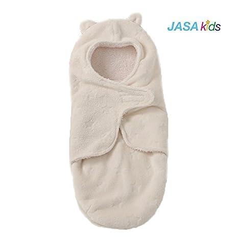 Beige JASA kids Baby Schlafsack innen weich gef/üttert Pucksack f/ür Neugeborene zu jeder Jahreszeit verwendbar