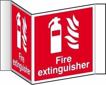 Amazon.com: Señal de seguridad con imagen de extintor de ...