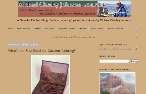 A Plein Air Painter's Blog - Painter Blog