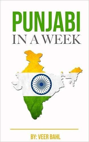 Buy Punjabi in a Week!: the Ultimate Punjabi Language Mini