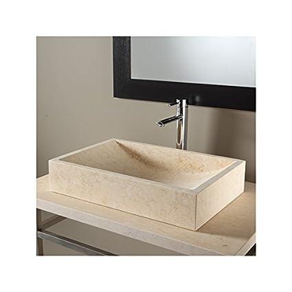 Installations salles de bain Vasque à poser rectangulaire en ...