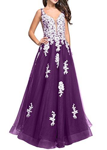 A Rock Kleider Brau Traeger mia Abendkleider Zwei Jugendweihe La Brautmutterkleider Partykleider 2018 Neu Violett Prinzess Linie w76BHqS