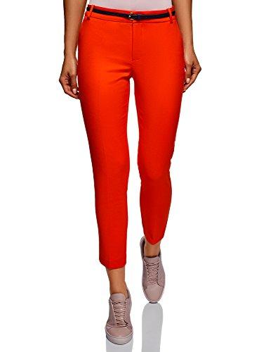 Ceinture Femme Collection 8 Rouge 7 4500n Pantalon Avec Oodji RfFqYxp