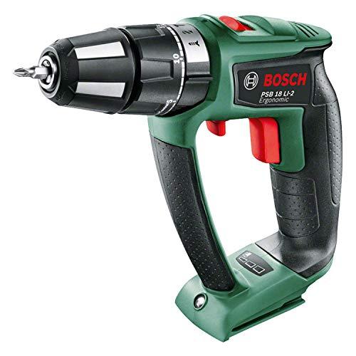 2506774-Bosch-Home-and-Garden-PSB-18-LI-2-Ergonomic-Corpo-Macchina-di-Trapano-Ba