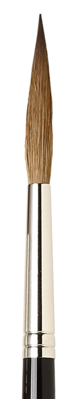 XL-Length Sharp Needle-Point Kolinsky Red Sable with Black Polished Handle Size 5//0 da Vinci Oil /& Acrylic Series 1203 Maestro Rigger Brush 1203-5//0