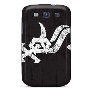 For Galaxy S3 Fashion Design Chicago White Sox Case-bSezKqT2960NFNmi