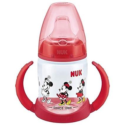 Biberon Disney Classics de Nuk 10215246 1 pi/èce Anti-fuite Dessin de bambi Pour enfant de 6-18 mois Rose