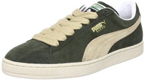 Puma Herren Suede Classic + Low-top Grau (foresta Night-puma Khaki New 43)