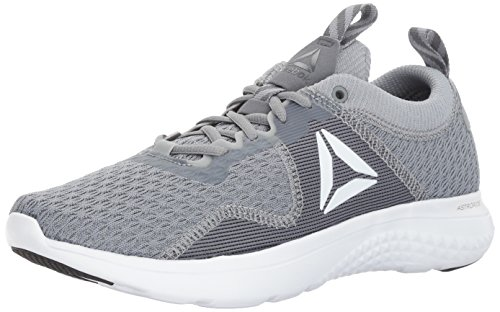 Reebok Men's Astroride Run FIRE MTM Shoe, Flint Alloy/White/Silver Metallic/Pewter/Black/Baseball Grey, 9.5 M - Shoe Running Fire Road