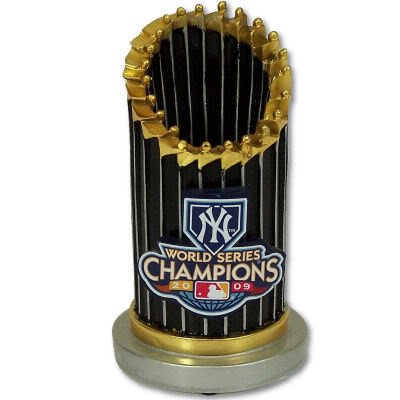 - NEW YORK YANKEES 209 WORLD SERIES CHAMPS TROPHY PAPERWEIGHT