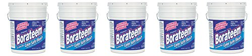 Dial 871882 Borateem Non-Chlorine Color Safe Bleach,17.5 lb Pail, 424 Loads (5-Pails) by Dial