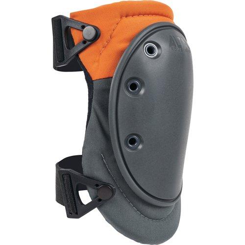ALTA 50420 AltaFLEX NOMAR Knee Protector Pad, Black Cordura Nylon Fabric, AltaGrip Fastening, Flexible Cap, Long, Beige (One Pair)