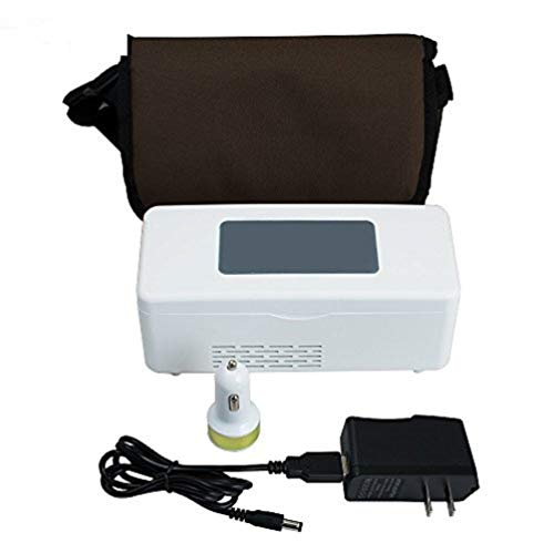 (Snow Gear  Portable Insulin Cooler Refrigerated Box Insulin Cooler Case Portable Reefer Car Small Refrigerator Mini cold boxes Portable Drug Reefer Mini Drug Constant Temperature Refrigerator 2-8℃ )