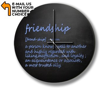 Friendship Definition Photo Clock (Best Definition Of Friendship)