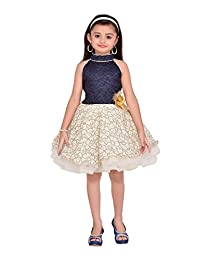 Adiva Girl's Party Wear Frock for Kids