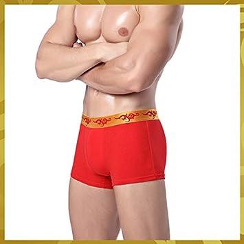 CBIN & HUA boda Calzoncillos Ropa Interior para Hombre Rojo rosso Talla:XL