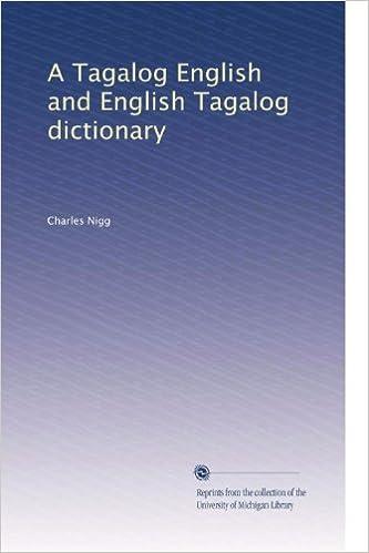 English pdf tagalog dictionary
