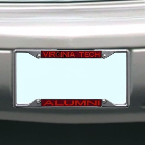 NCAA Virginia Tech Hokies License Plate Frame Alumni
