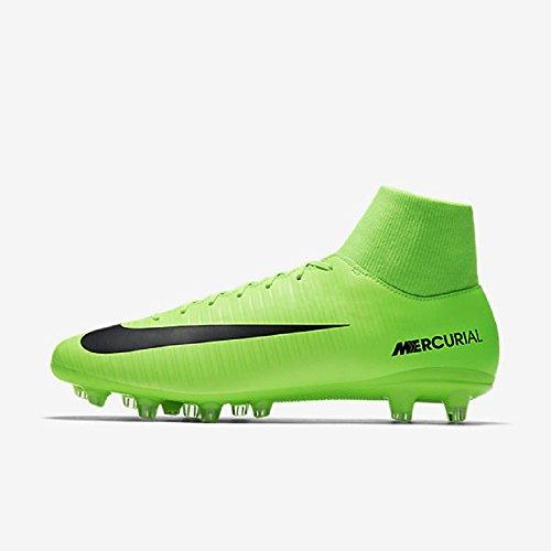 Botas Nike Mercurial Victory VI Df Ag Pro Verde Con Calcetín VERDE
