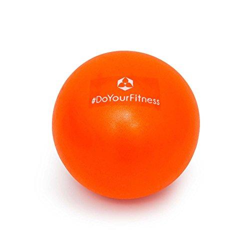 Mini Pilates Ball »Bola« Gymnastikball: Effektives Training gegen Verspannungen und Muskelschmerzen, 18 cm, orange