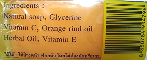 Vitamin C&E Soap Bennett Natural extracts /Thai Soap 130 G.