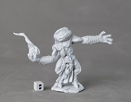 Reaper Miniatures 03891 Chaos Toad Sorcerer, Metal Miniature from Reaper